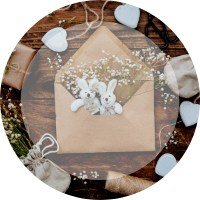 Artículos de madera boda