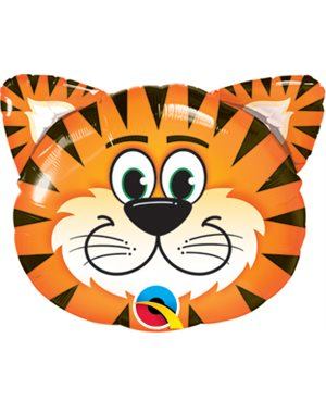 "Globo de foil Tickled Tigre de 14"" -"