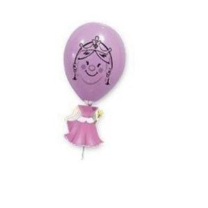 Globos marioneta Princesa - Fiesta princesas