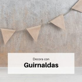 Decoración guirnaldas