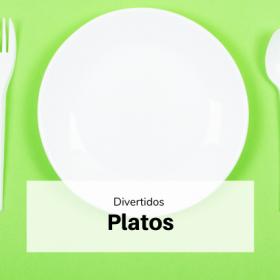 platos decoración
