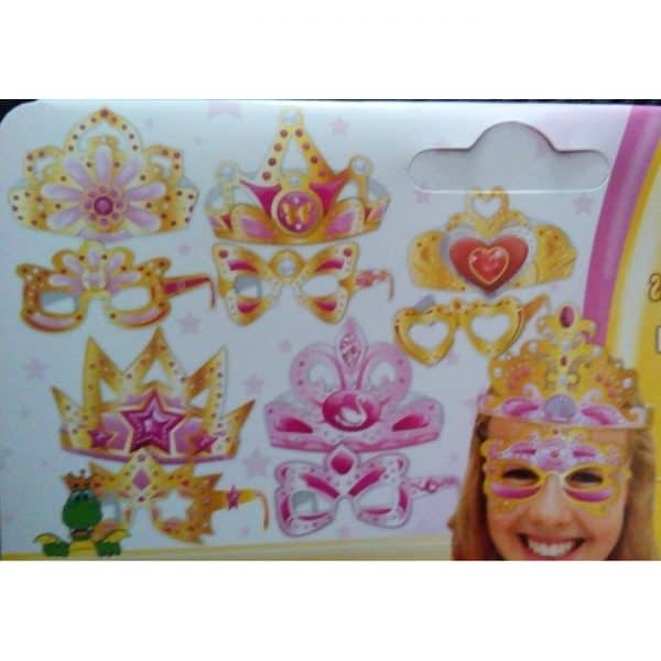 Bolsa de coronas princesas infantiles -