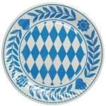 11846 platos-baviera-azul-o-23cm-