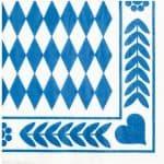 12901 servilleta-baviera-azul-cm-