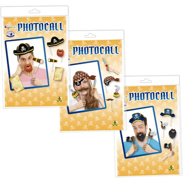 Accesorios para photocall piratas - FIESTA PIRATA