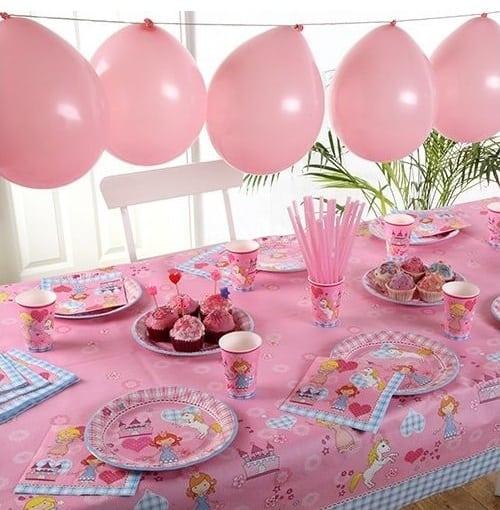 Set de menaje Fiesta Princesas (10 servicios) - Fiesta princesas