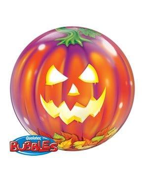 """Globo bubbles Jack O´ Lantern de 22"""" - Globos de Halloween"""