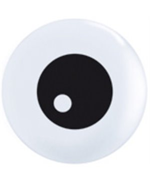 "Globo de latex Friendly Eyeball TopPrint de 11"" -"