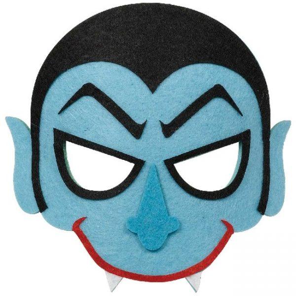 "Máscara infantil de felpa ""Vampiro"" -"