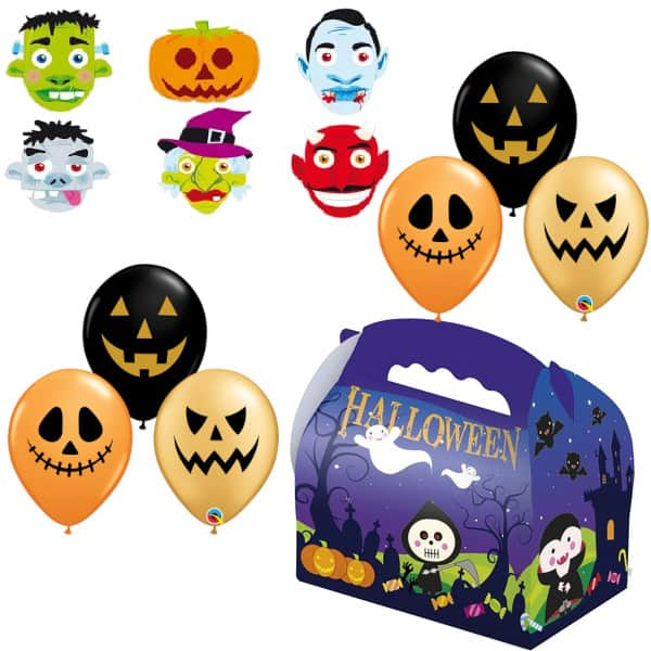 Kit Halloween Truco o Trato (6unidades) - SERVILLETAS, MANTELES Y CUBIERTOS