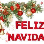 feliz navidad rojo