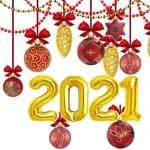 globos oro 2021
