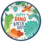 Platos de cartón Dinosaurio (8 platos) -