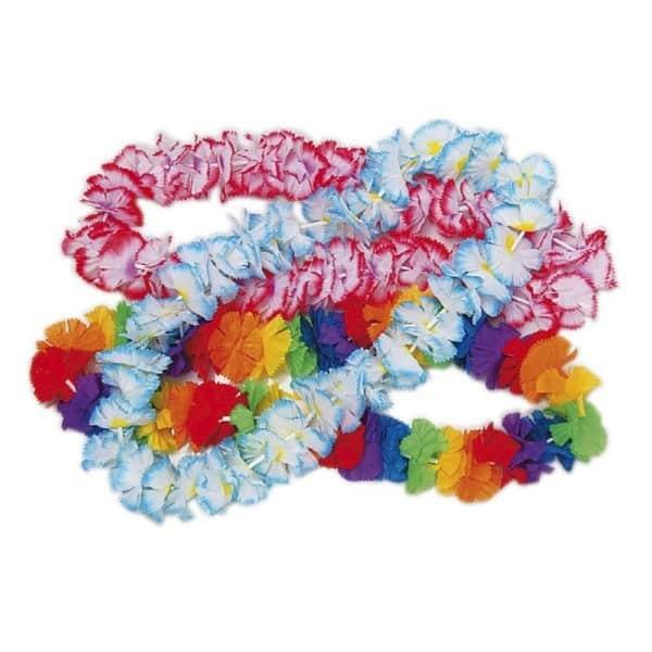 Collar de Flores multicolor -