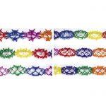 Guirnalda Multicolor de papel de 3mts -