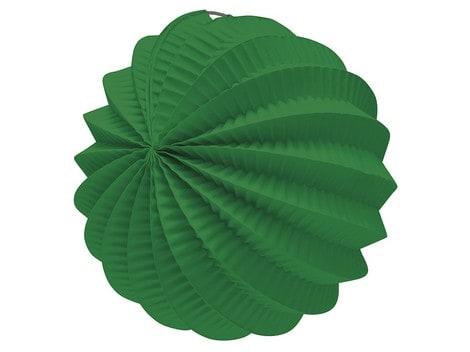 Farol esférico de papel color Verde de 22cm - Fiesta Saint Patrick
