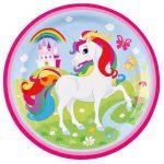 9902101 plato unicornio