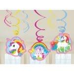 9902115 decoracion colgante unicornio