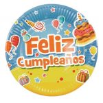 plato feliz cumpleaños ref 9364