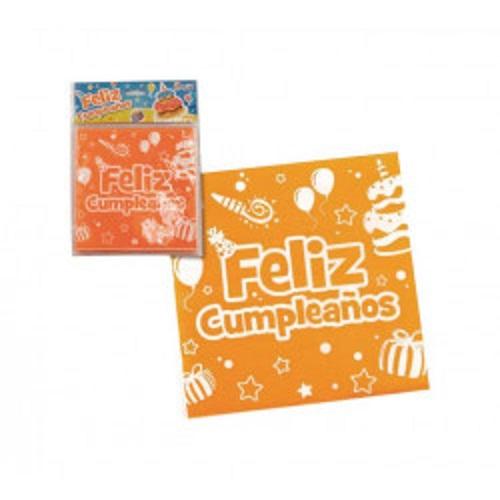 Servilleta papel Feliz Cumpleaños 33 x 33 cm -